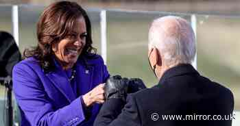 Historic moment as Kamala Harris becomes first female Vice President