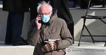 Bernie Sander's nod to hometown teacher as he attends Joe Biden's inauguration
