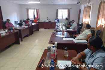 Representantes de Alanje muestran sus inquietudes con el MINSA y empresas de telefonía e internet - Chiriquí - frecuenciainformativa.com
