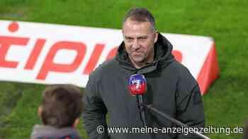 """Frohe Botschaft: Hansi Flick lüftet live im TV Geheimnis um FCB-Star - """"Baby geht vor"""""""