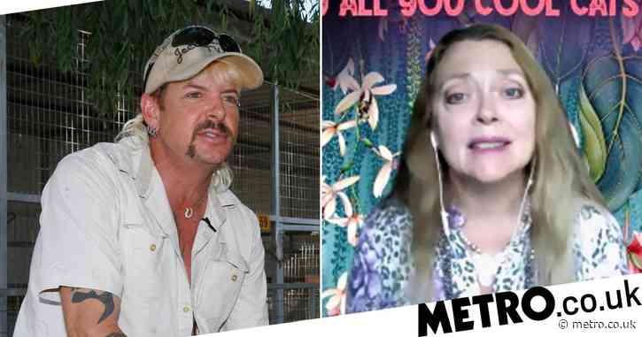 Tiger King's Carole Baskin fears people still want her dead despite Joe Exotic's failed Trump pardon