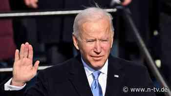 Verzweifelt optimistisch: Nach seiner Rede wirkt Biden geschafft