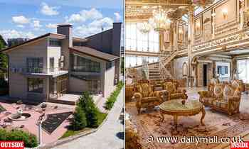 Pictured: The house in Irkutsk that's normal on the outside and like a palace on the inside - Daily Mail