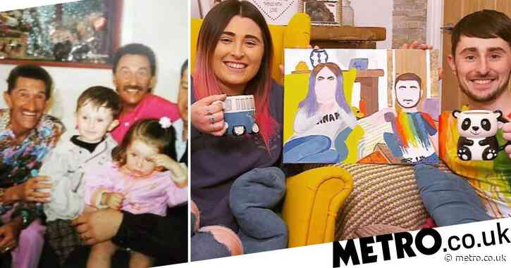 Gogglebox stars Sophie and Pete Sandiford seen in cute throwback photo with famous family relatives