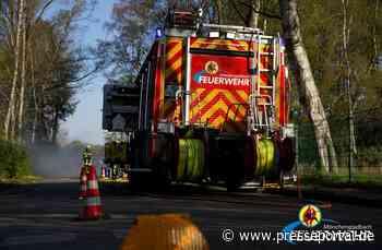 FW-MG: Umgestürzter LKW - Fahrer leicht verletzt