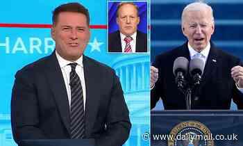 Karl Stefanovic mocks Joe Biden on Today show as president is sworn in