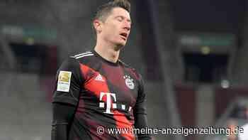 FC Bayern: Lewandowski vorzeitig ausgewechselt - schlimmere Verletzung?