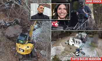 Excavator and expert known as 'The Bone Finder' brought to mansion once owned by Fotis Dulos