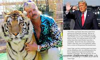 Joe Exotic's lawyers are 'disappointed' but 'respect' Trump's decision not to pardon Tiger King star