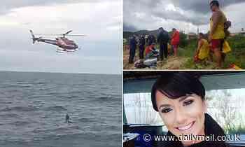 Teacher dies posing for selfie in Brazil as waves knock her off rock
