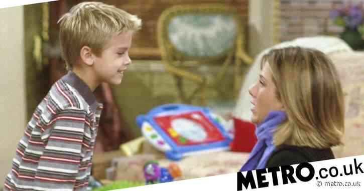 Cole Sprouse teased over Jennifer Aniston crush on Friends set