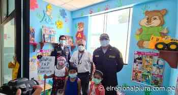 Paita: Comisaría de La Huaca implementa 'Poliwawa' para proteger a niños y niñas afectados por violencia familiar - El Regional