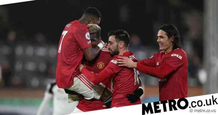 Ole Gunnar Solskjaer's Manchester United equal club record with Fulham victory