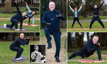 He was the wild man of pop... but now Bez from the Happy Mondays is becoming an online exercise guru