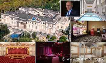 Tsar Putin's £1billion palace of pleasure: It's a monstrous monument to the Russian leader's vanity