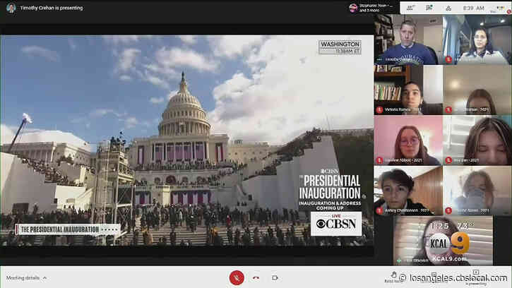 'There Are No Words That Can Describe It': LA Students React To Inauguration Of President Joe Biden