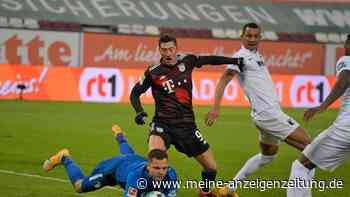 Dusel-Sieg für nachlässige Bayern! Zwei Elfmeter entscheiden die Partie beim FC Augsburg