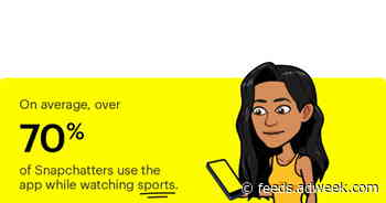 Game On: 70% of Snapchatters Use the App While Watching Sports