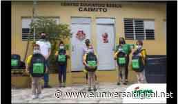 Industrias San Miguel entrega kits escolares a 150 niños de El Caimito - El Universal Digital (República Dominicana)