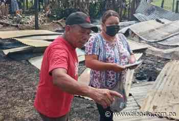 Ayudarán a una familia de Chiriquí Grande damnificada por un incendio - Día a día