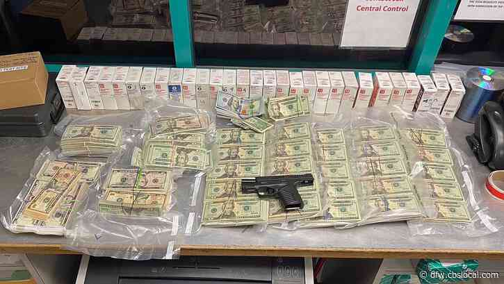 Arlington Cops Recover Marijuana, Gun, $167K In Cash During Auto Shop Bust