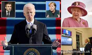 Queen leads world leaders in congratulations for Joe Biden