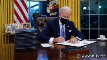 Trump-Entscheidung revidiert: Biden leitet Rückkehr zu Pariser Klimaabkommen ein