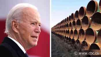 Keystone XL permit revoked by U.S. President Joe Biden
