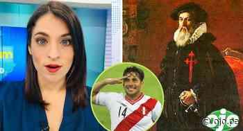 Periodista de TV Perú confunde a Claudio Pizarro con Francisco Pizarro en vivo y nadie la corrige | VIDEO - Diario Ojo