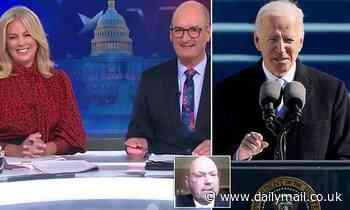 Australia's ambassador to the US heaps praise on Joe Biden as he is sworn in as president