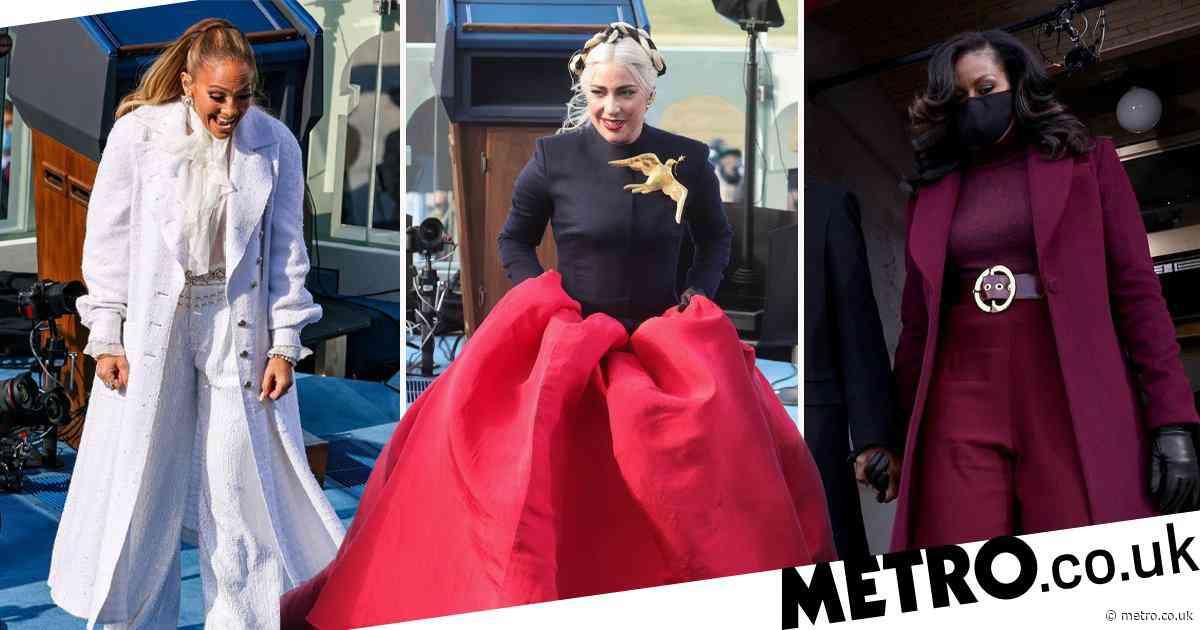 Joe Biden inauguration: Lady Gaga, Michelle Obama and Jennifer Lopez stun in symbolic outfits