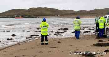 Dad with young kids rescued from sea after Storm Christoph beach trip goes wrong