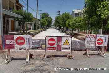 Renuevan pavimentos en calles de Villa Adelina y Boulogne - Que Pasa Web