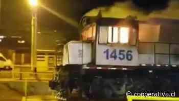 Corte de Antofagasta revocó internación provisoria de joven imputado por incendiar un tren