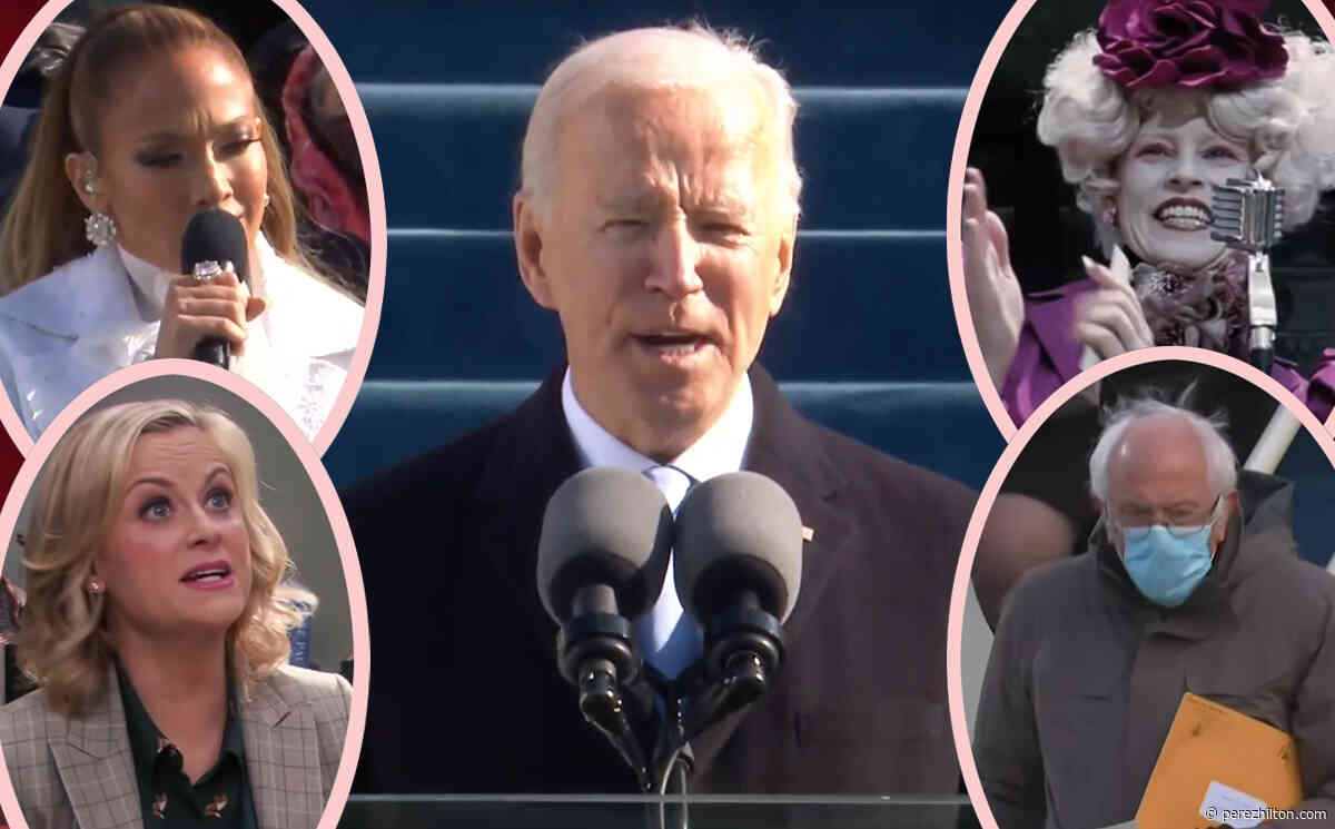 Fashion Icon Bernie! Leslie Knope! Hunger Games! All The Best Joe Biden Inauguration Memes!