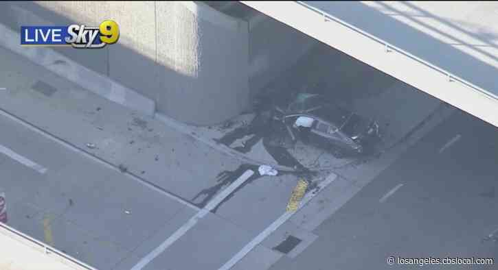 Pursuit Ends In Deadly Crash In Fontana