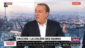 """EXCLU - Coronavirus - Le coup de gueule du maire de Coubron: """"Il n'y a pas un seul vaccin ! On nous fait fermer nos 8 centres de Seine-Saint-Denis que le gouvernement nous a demandé d'ouvrir!"""" - VIDEO - Actu Orange"""