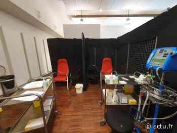 Seine-et-Marne. A Provins, le centre de vaccination a ouvert ses portes en ville-basse - actu.fr