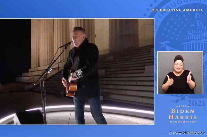 Bruce Springsteen Kicks Off 'Celebrating America' Inauguration Concert With 'Land of Hope & Dreams'