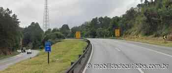 """Carreta em """"L"""" interdita BR-116 em Campina Grande do Sul - Mobilidade Curitiba"""