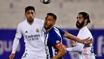 Pokal-Aus trotz Überzahl: Real Madrid blamiert sich gegen Drittligisten