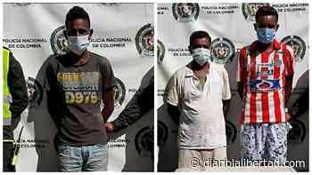 Policía captura en Cerro San Antonio a tres personas por diferentes delitos - Diario La Libertad