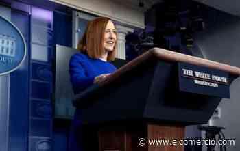 La portavoz de Biden marca un tono distinto y expresa respeto a la prensa