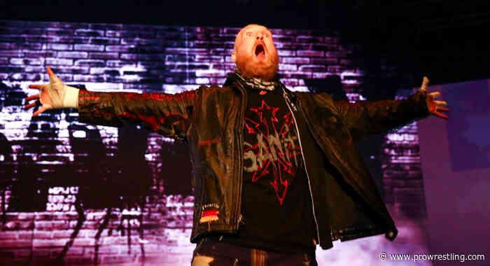 Alexander Wolfe Returns To WWE NXT