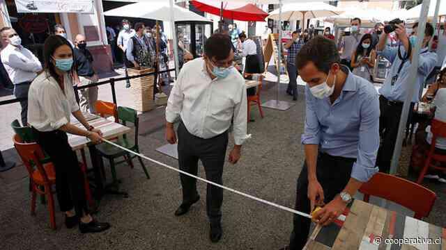 Autoridades fiscalizaron medidas sanitarias en el Mercado Central