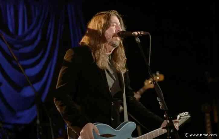 Watch Foo Fighters perform 'Times Like These' in celebration of Joe Biden's inauguration