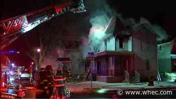 Firefighters battle 3-alarm fire on Rochester's northwest side