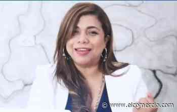 La compañera de fórmula del presidenciable Giovanny Andrade renuncia a candidatura