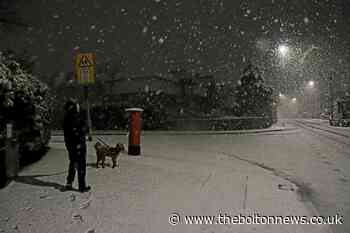 Storm Christoph: 18 brilliant pictures of the snow in Bolton last night