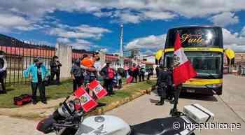 Cajamarca: buses interprovinciales no cumplen protocolos sanitarios en la ciudad de Celendín   LRND - LaRepública.pe